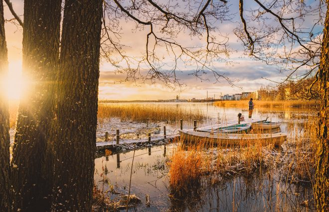One of the most eco friendly countries in the world: Finland.
