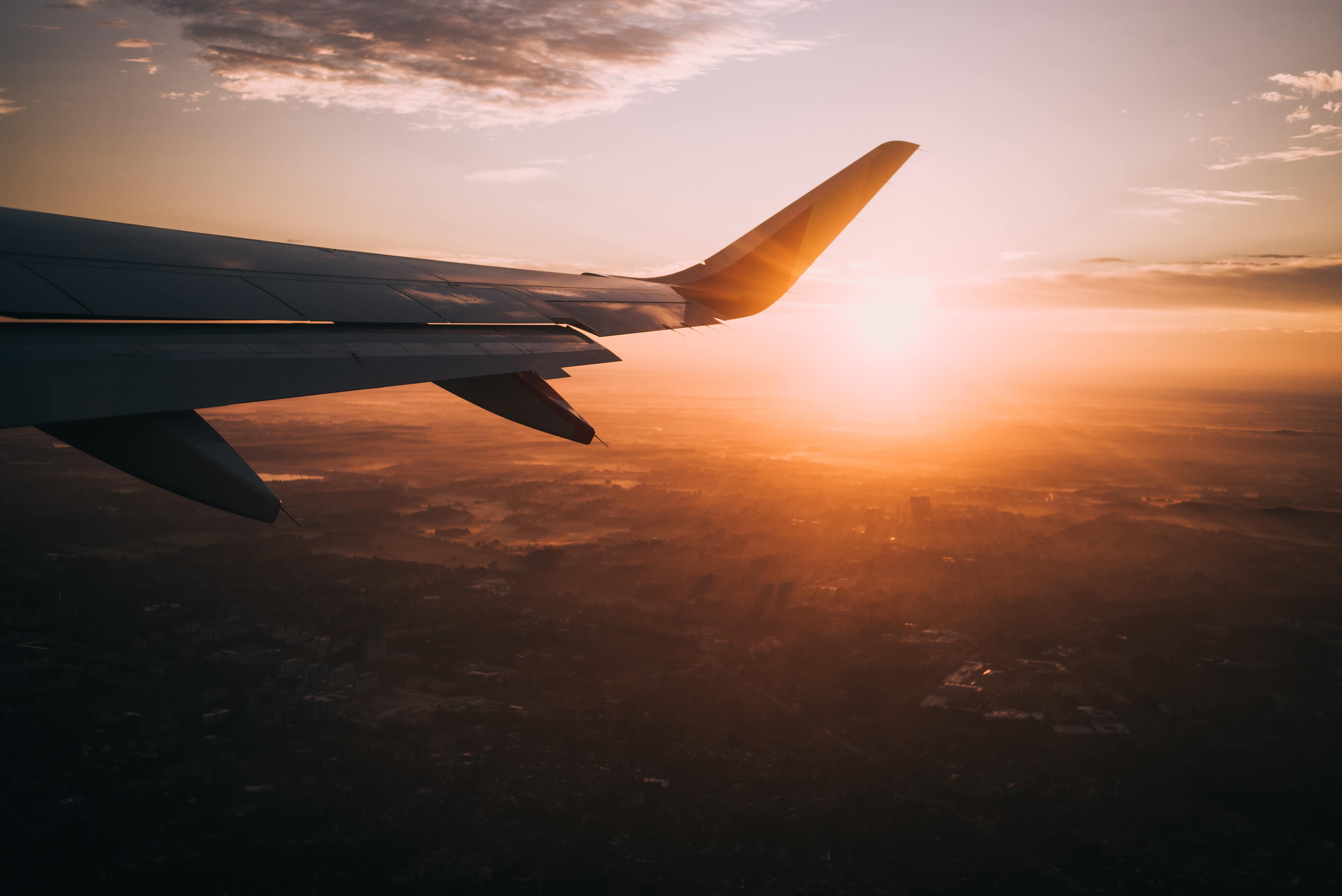 Group Travel, Flight during Golden Hour, Photo by Nils Nedel on Unsplash